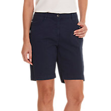 Buy Betty Barclay Cotton Shorts, Dark Sky Online at johnlewis.com