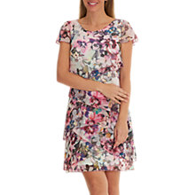Buy Betty Barclay Floral Print Chiffon Dress, Multi Online at johnlewis.com