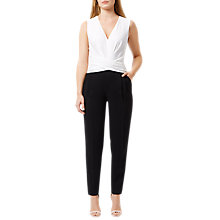 Buy Damsel in a dress Rowan Jumpsuit, Black Online at johnlewis.com