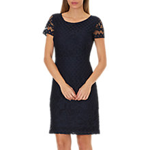 Buy Betty Barclay Lace Shift Dress, Dark Sky Online at johnlewis.com