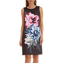 Buy Betty Barclay Floral Print Dress, Black/Pink Online at johnlewis.com