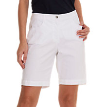 Buy Betty Barclay Cotton Shorts, Bright White Online at johnlewis.com