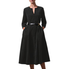 Buy Toast Needlecord Dart Dress, Black Olive Online at johnlewis.com