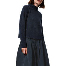 Buy Toast Fine Merino Wool Roll Neck Jumper, Midnight Online at johnlewis.com