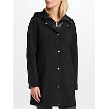 Buy Lauren Ralph Lauren Combo Synthetic Coat, Black Online at johnlewis.com