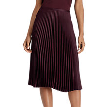 Buy Lauren Ralph Lauren Colyn Skirt, Red Sangria Online at johnlewis.com