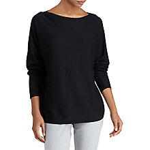 Buy Lauren Ralph Lauren Fintra Sweater, Polo Black Online at johnlewis.com