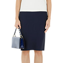 Buy Marc Cain Slim Fit Pencil Skirt, Midnight Blue Online at johnlewis.com