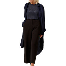 Buy Selected Femme Latte Wide Leg Culotte, Black Online at johnlewis.com