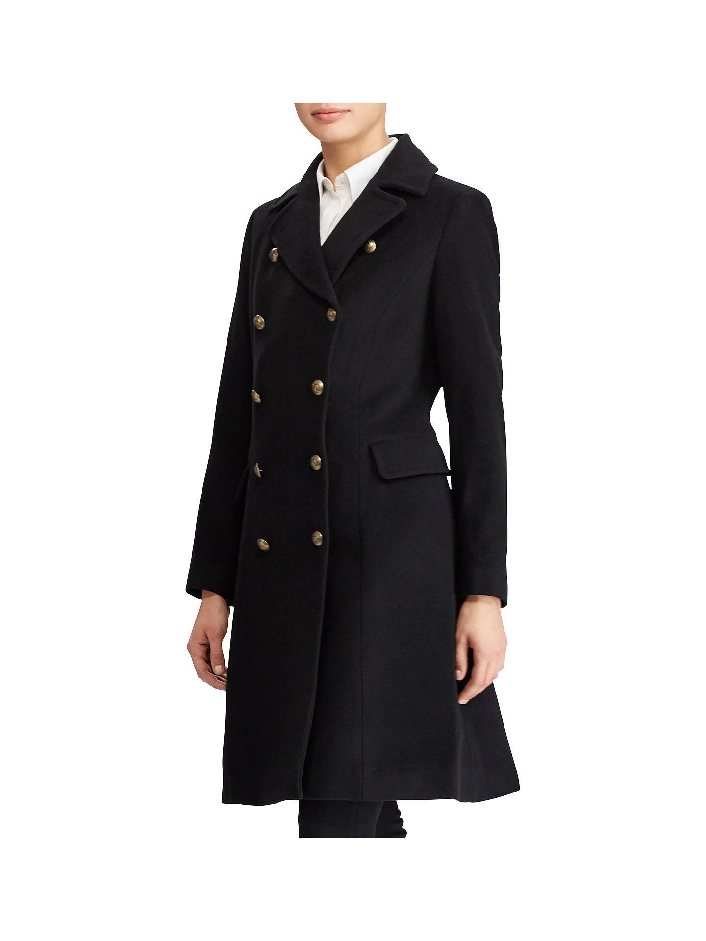 b670efcb082c Buy Lauren Ralph Lauren Wool Blend Military Coat