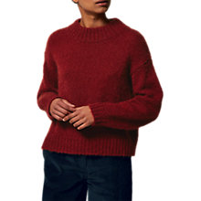 Buy Toast Mohair Wool Blend Jumper, Boysenberry Online at johnlewis.com
