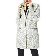 Buy Selected Femme Faber Wool Blend Coat, Snow White Online at johnlewis.com