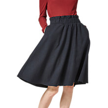 Buy Selected Femme Wolila High Waist Skirt, Orion Blue Online at johnlewis.com