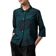 Buy Toast Heze PJ Shirt, Beetle Green/Navy Online at johnlewis.com