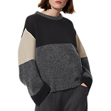 Buy Toast Kimono Colour Block Jumper, Charcoal Multi Online at johnlewis.com