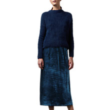 Buy Toast Suri Alpaca Knit Jumper, Indigo Online at johnlewis.com
