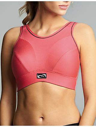 Royce Impact Free Non Wired Sports Bra, Coral