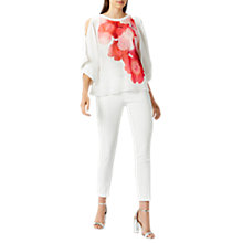 Buy Coast Keiko Print Cold Shoulder Top, Multi Online at johnlewis.com