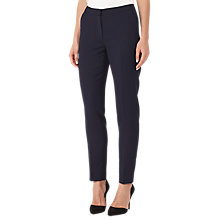 Buy Reiss Faulkner Slim-Leg Trousers, Navy Online at johnlewis.com