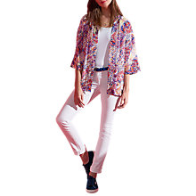 Buy Pure Collection Easy Silk Jacket, Abstract Paisley Print Online at johnlewis.com