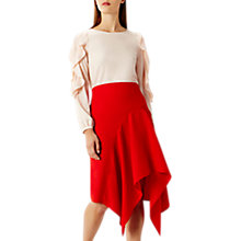 Buy Coast Saira Asymmetric Skirt, Red Online at johnlewis.com