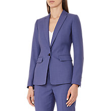 Buy Reiss Verso Single-Breasted Blazer, Blue Online at johnlewis.com