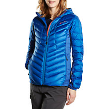 Buy Berghaus Tephra Stretch Insulated Women's Down Jacket, Blue Online at johnlewis.com