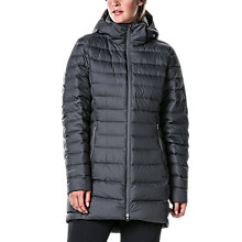 Buy Berghaus Hudsonian Women's Long Down Insulated Jacket, Grey Online at johnlewis.com