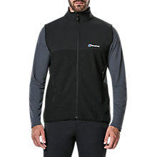 Buy Berghaus Fortrose 2.0 Men's Fleece Gilet, Black Online at johnlewis.com