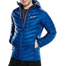 Buy Berghaus Tephra Stretch Insulated Men's Down Jacket, Blue Online at johnlewis.com