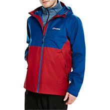 Buy Berghaus Fellmaster Men's Waterproof Jacket, Red/Blue Online at johnlewis.com