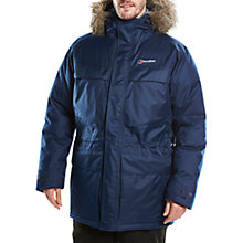 Buy Berghaus Hudsonian Men's Waterproof Parka Jacket, Blue Online at johnlewis.com