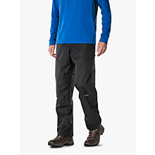 Buy Berghaus Deluge Waterproof Over-Trousers, Black Online at johnlewis.com