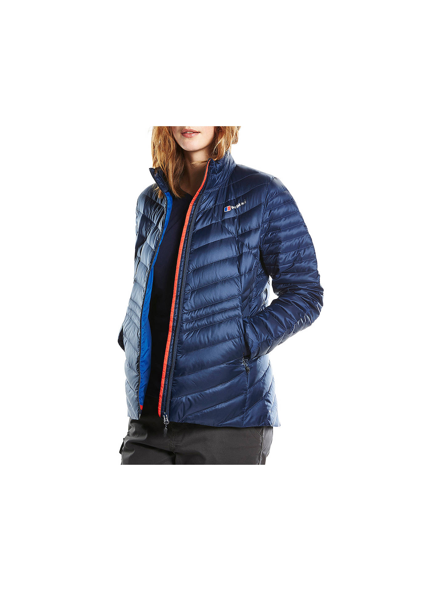 13114bc15 Berghaus Tephra Insulated Women's Down Jacket, Blue at John Lewis ...