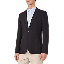 Buy Reiss Gravity B Patch Pocket Blazer, Navy Online at johnlewis.com