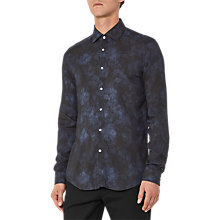 Buy Reiss Delmar Long Sleeve Shirt, Navy Online at johnlewis.com