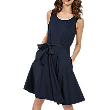 Buy Fat Face Rosa Dress, Navy Online at johnlewis.com