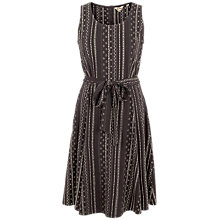 Buy Fat Face Rosa Sketched Stripe Dress, Phantom Online at johnlewis.com