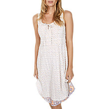 Buy Fat Face Christina Sunset Ditsy Dress, White Online at johnlewis.com