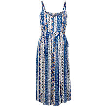 Buy Fat Face Paige Vintage Flora Dress, Navy Online at johnlewis.com