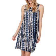 Buy Fat Face Abbie Vintage Flora Dress, Navy Online at johnlewis.com