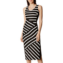 Buy Karen Millen Textured Jersey Dress Online at johnlewis.com