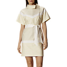Buy Karen Millen Belted Stripe Dress, Multi Online at johnlewis.com