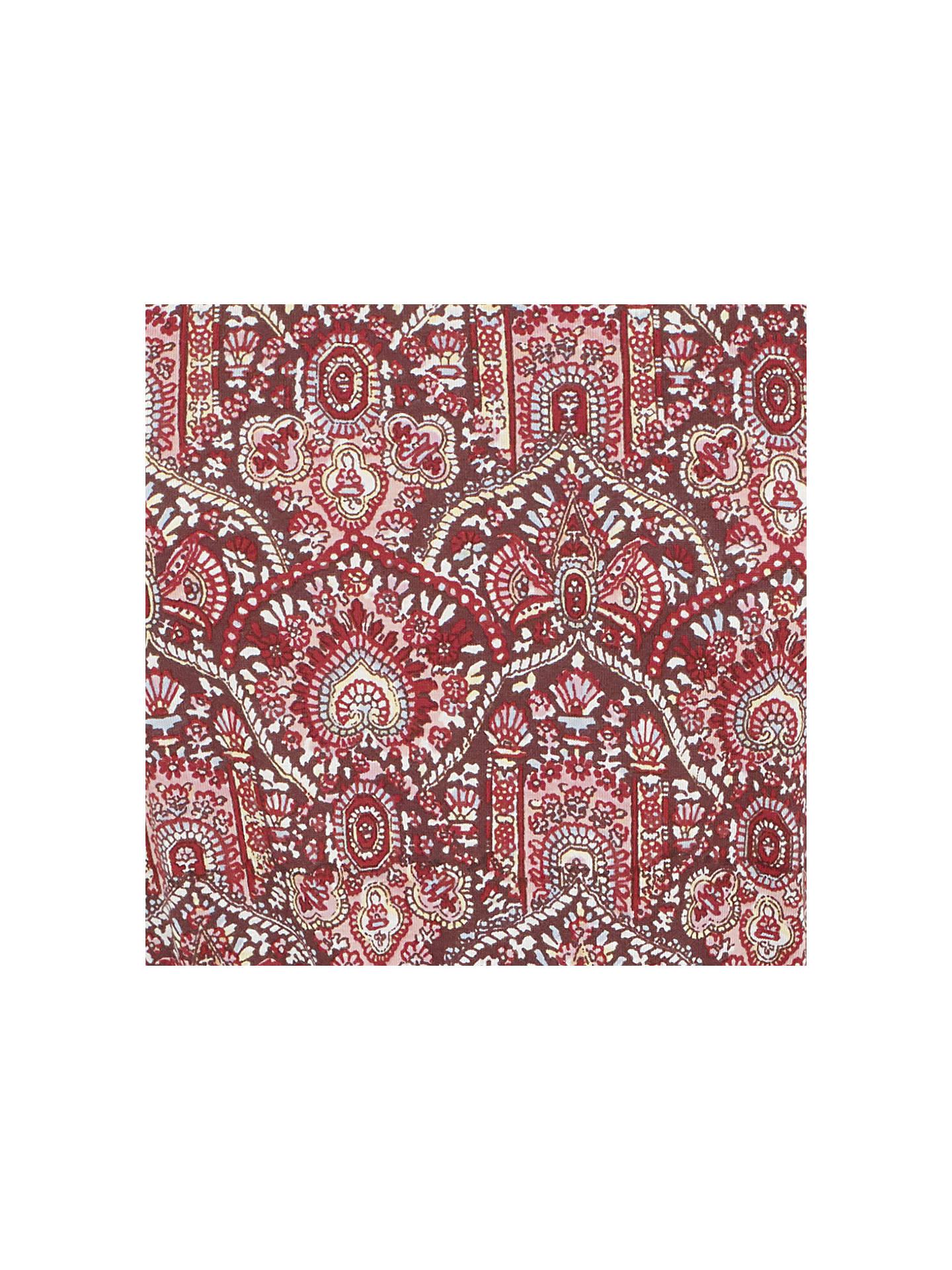 16af821ac60c Buy Fat Face Rosa Indian Summer Dress, Rustic Red, 6 Online at johnlewis.