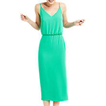 Buy Oasis Midi Dress, Green Turquoise Online at johnlewis.com