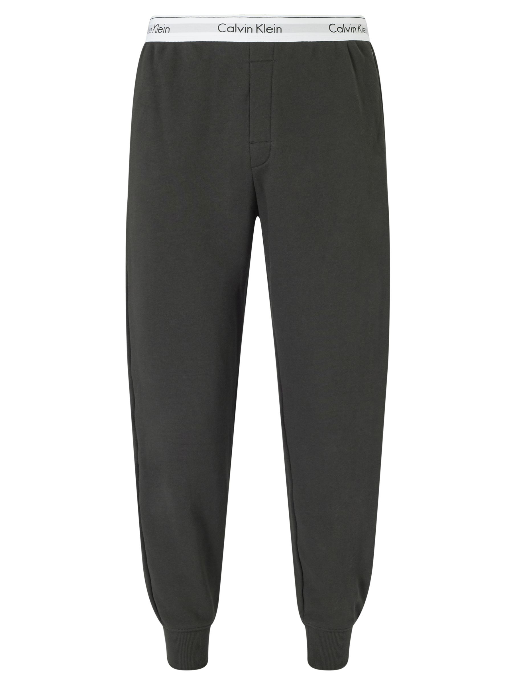 Buy Calvin Klein Modern Jogging Bottoms, Black, S Online at johnlewis.com
