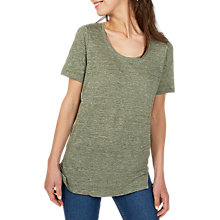 Buy Fat Face Luna Linen T-Shirt Online at johnlewis.com