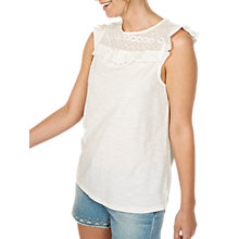 Buy Fat Face Ali Ruffle T-shirt Online at johnlewis.com
