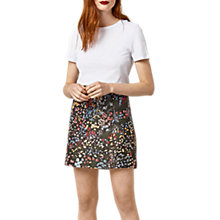 Buy Warehouse Wild Garden Jacquard Skirt, Multi Online at johnlewis.com