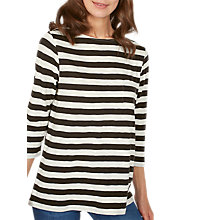 Buy Fat Face Darcey Three Quarter Stripe T-Shirt Online at johnlewis.com